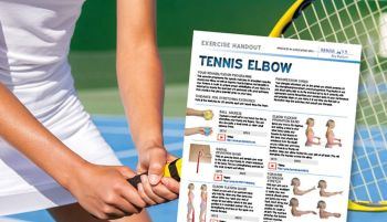 tennis - tennis elbow rehab exercise pic