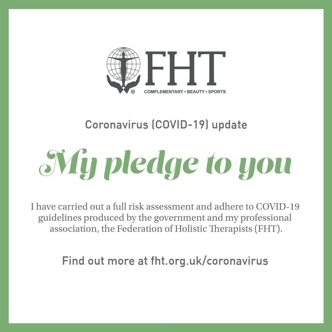 FHT Covid-19 Pledge