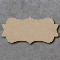 Plaque 06 - Swirly Rounded Rectangle