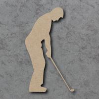 Golfer Blank Craft Shapes