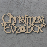 Christmas Eve Box Topper 01 Craft Sign