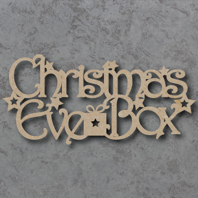 Christmas Eve Box 01 Craft Sign