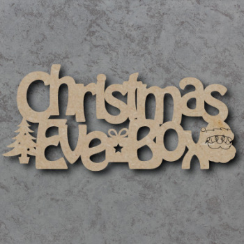 Christmas Eve Box Topper 02 Craft Sign