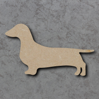 Dog 02 - (Dachshund) Craft Shapes