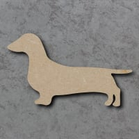 Dog 02 - (Dachshund) Blank Craft Shapes