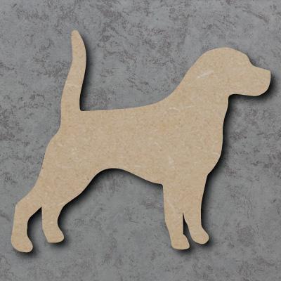 Dog 4 - (beagle) Craft Shapes