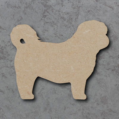 Dog 6 - (Shih Tzu) Craft Shapes