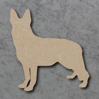 Dog 07 - (German Shepherd) Blank Craft Shapes