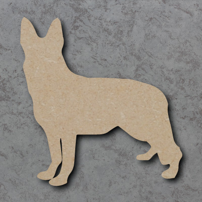 Dog 1 - (German Shepherd) Craft Shapes