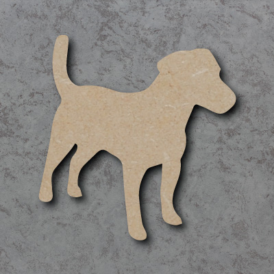 Dog 1 - (Jack Russell) Craft Shapes