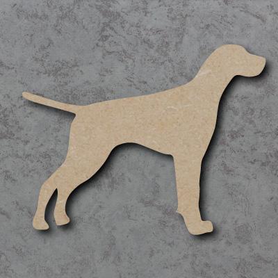 Dog 1 - (Pointer) Craft Shapes