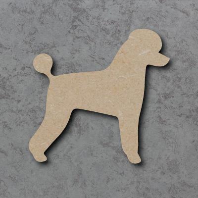 Dog 1 - (Poodle) Craft Shapes