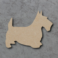 Dog 12 - (Scottie) Blank Craft Shapes