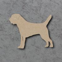 Dog 16 - (border terrier) Blank Craft Shapes