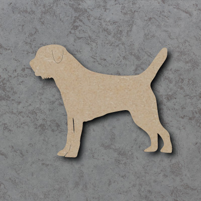 Dog 16 - (border terrier) Craft Shape