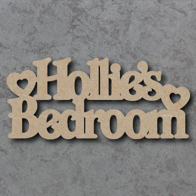 Personalised Girls Bedroom Craft Sign