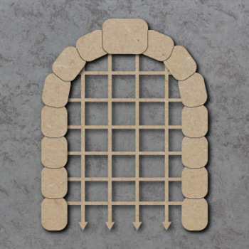 Portcullis Craft Shapes