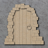 Fairy Door D Craft Shapes