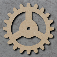Cog Blank Craft Shapes