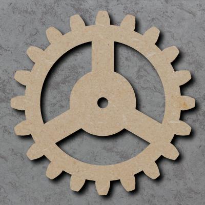 Cog Wooden Craft Shape
