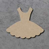 Dress Blank Craft Shapes