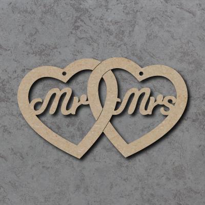 Mr & Mrs Linked Hearts