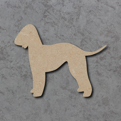 Dog 21 - (Bedlington Terrier) Craft Shapes