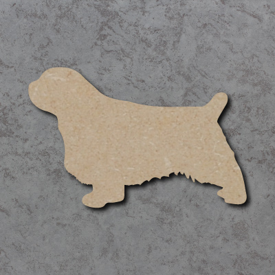 Dog 22 - (Clumber Spaniel) Craft Shapes