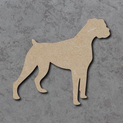 Dog 24 - (Boxer) Craft Shapes