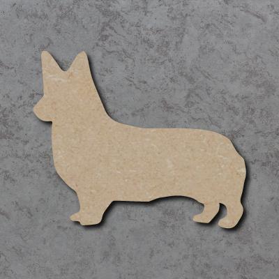 Dog 25 - (Corgi) Craft Shapes