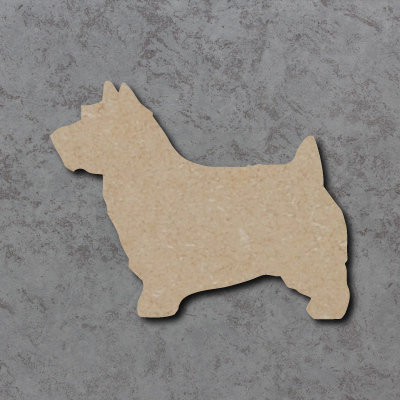 Dog 26 - (Norwich Terrier) Craft Shapes