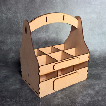 3D Beer Carrier Craft Kit