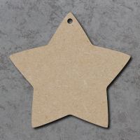 Star 04 Blank Craft Shapes