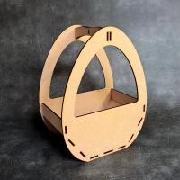 3D Easter Egg Basket Craft Kit