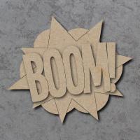 Comic Book Boom! Sign