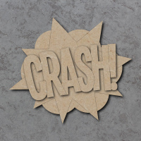Comic Book Crash! Sign