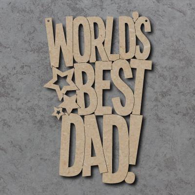 Worlds Greatest Dad Craft Sign