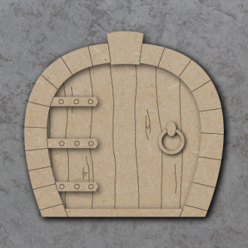 Fairy Door E Craft Shapes