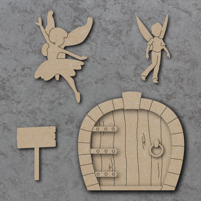 Fairies, doors and accessories