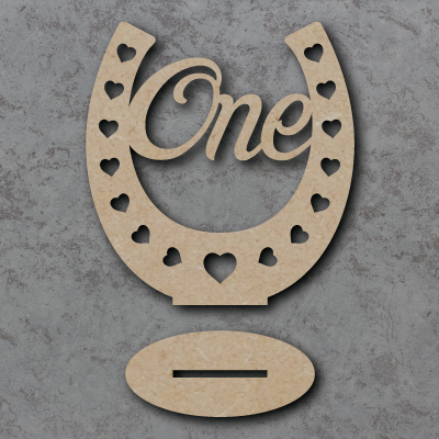 Horse Shoe Freestanding Table Numbers
