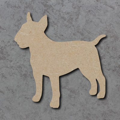 Dog 27 - English Bull Terrier Craft Shape