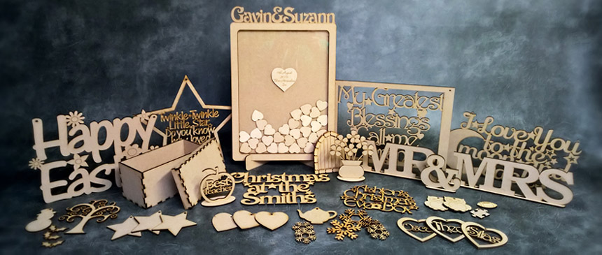 MDF Wooden Craft Shapes