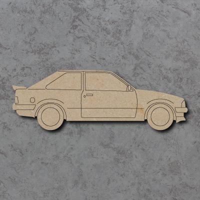 Ford Escort MK3 Craft Shapes