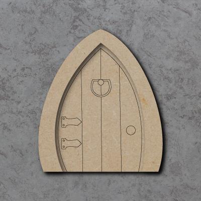 Fairy Door A (3D) Craft Shapes