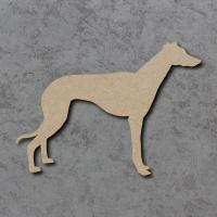 Dog 28 - (Greyhound) Blank Craft Shapes