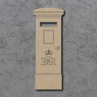 Post Box C Detailed Craft Shapes