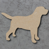 Dog 30 - (Labrador) Blank Craft Shapes