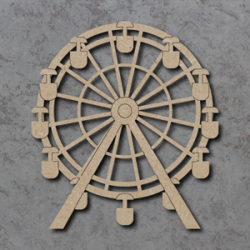 Big Wheel Craft Shapes