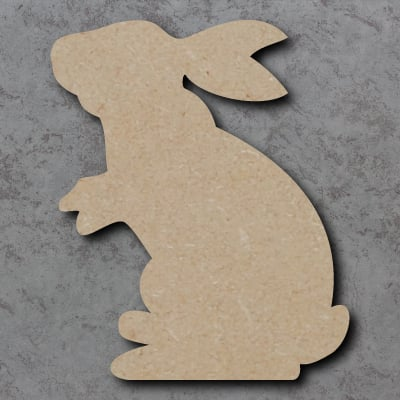 Rabbit Standing Craft Shapes