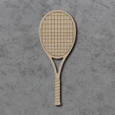 Tennis Racket Craft Shapes